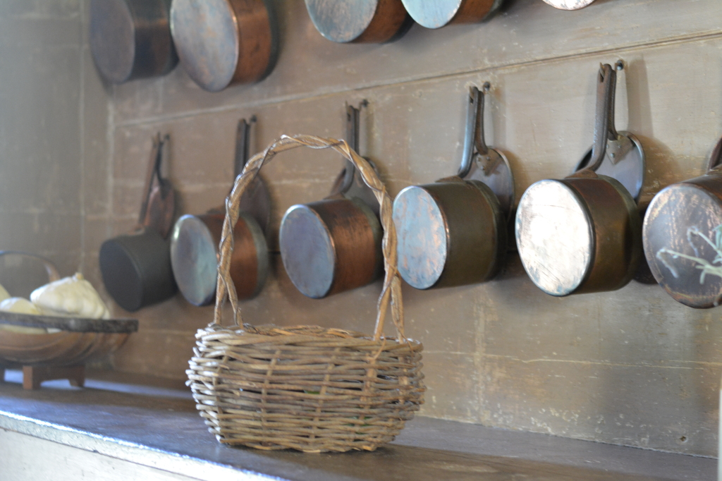 Pots in Kitchen at Vaucluse House
