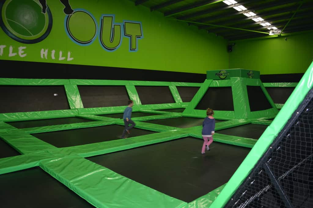 Kids Activities Sydney: Trampolines are great things to do on rainy days for active kids