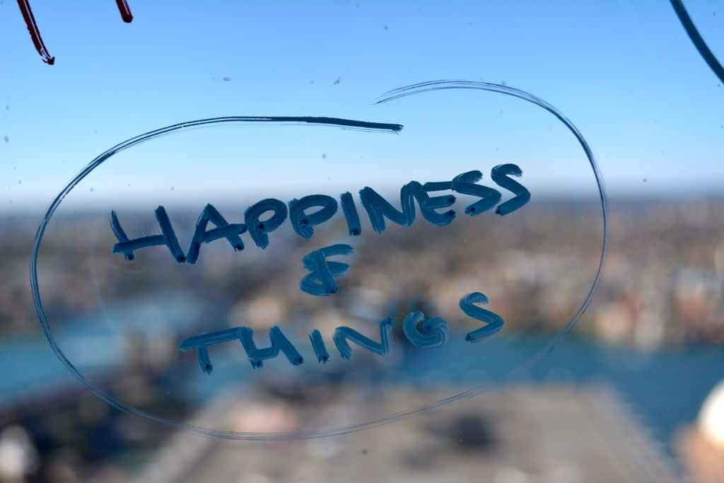Happiness and Things