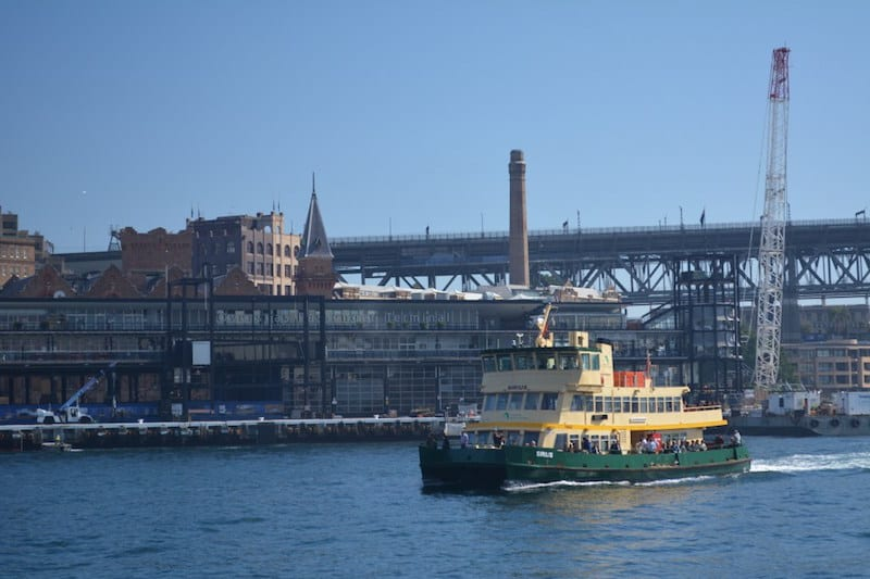 The ferries in Sydney are used by thousand of commuters each day. Tourists can make use of the little boats to visit beach suburbs and enjoy the beautiful Sydney Harbour.