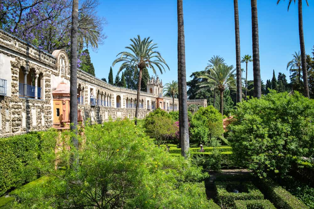 The gardens of the Alcazar in Seville are just as popular as the buildings next to them. They became known to a much wider audience outside Europe when they were used as a backdrop in the famous TV show Game of Thrones.