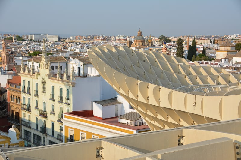 Stunning views of Seville
