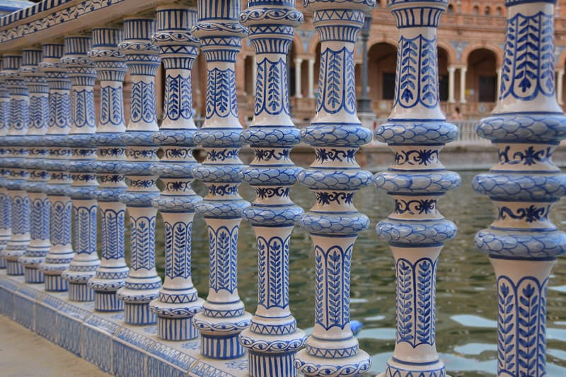 Detail of Plaza de España