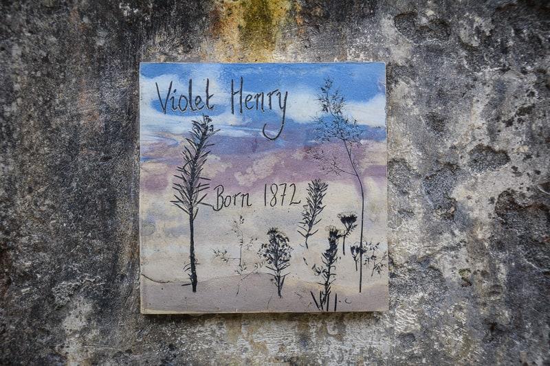 Violet Henry's tile
