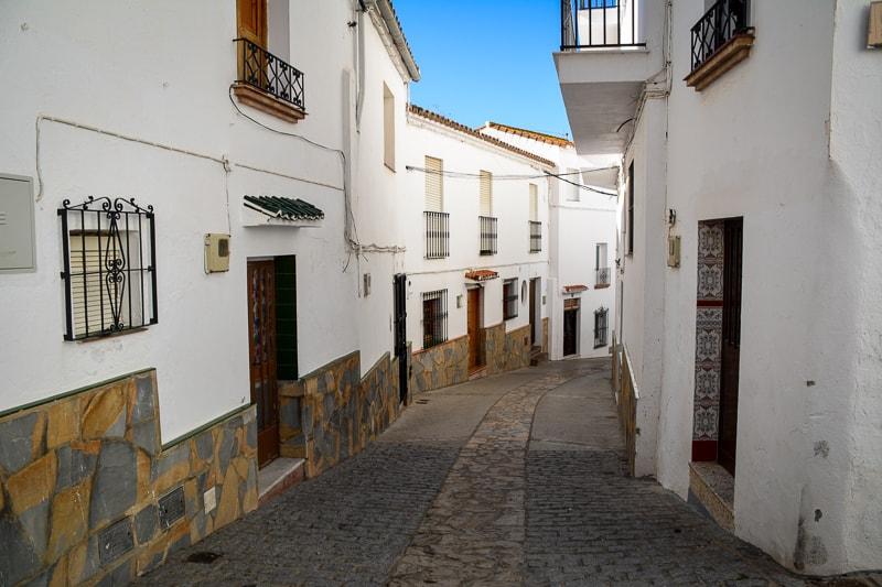 A walk down the road to the Plaza de España