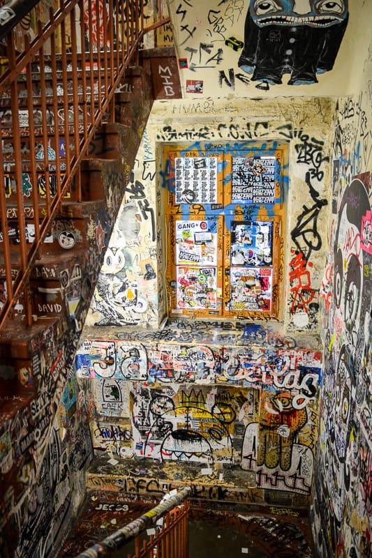 Das Haus Schwarzenberg und der dazugehörige Innenhof zählen zu den Street-Art-Hotspots von Berlin.