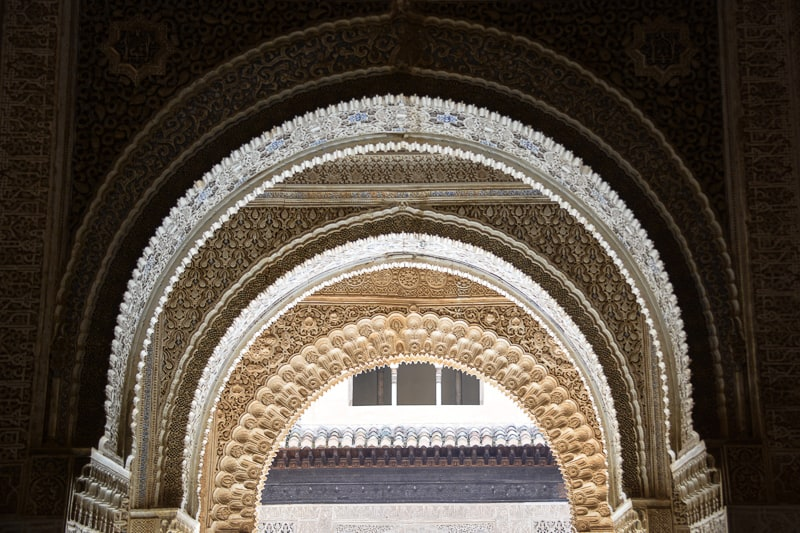 Arches in the Alhambra and Generalife