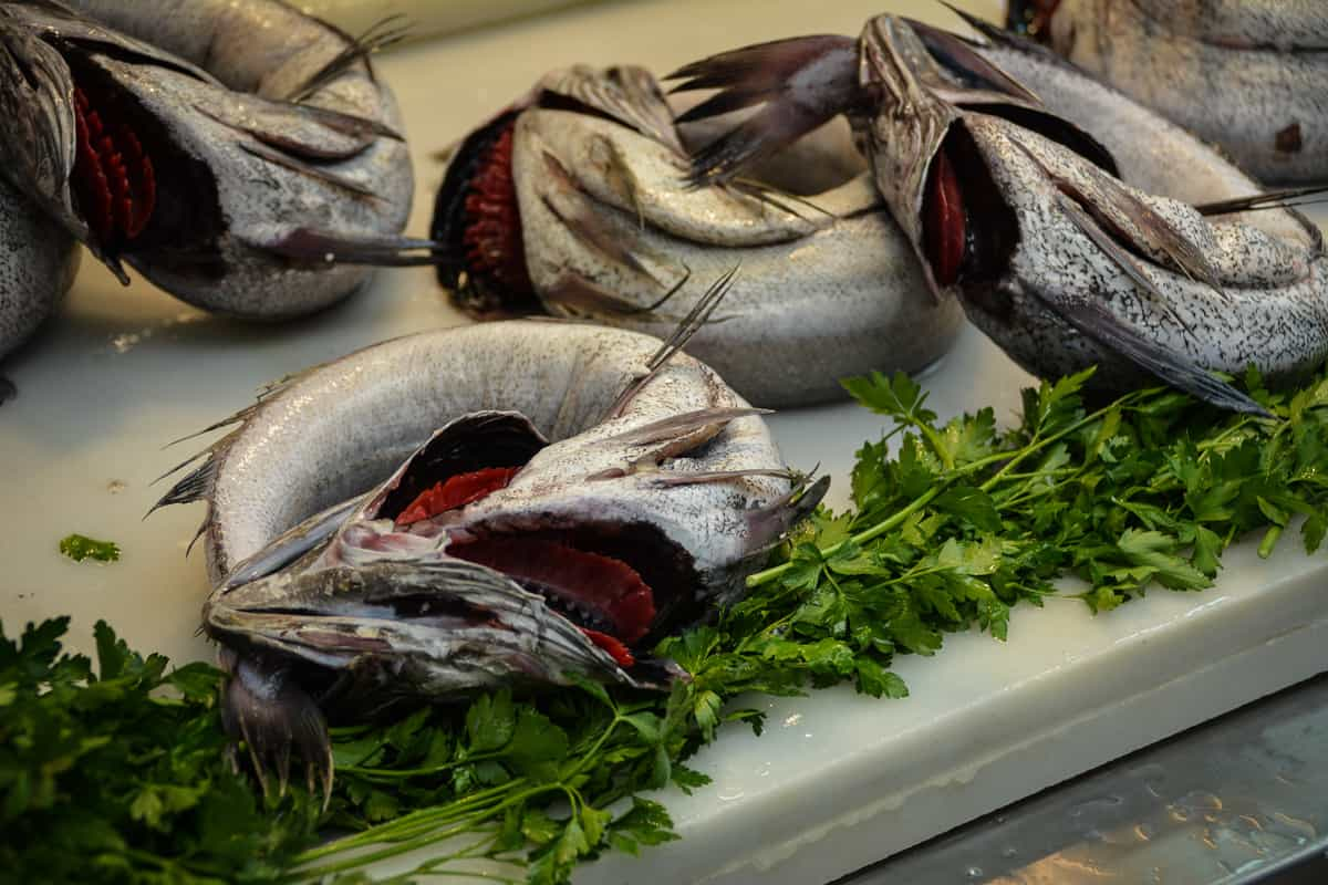 Sardines are a staple in Malaga, but other fishes are also eaten on a regular basis.