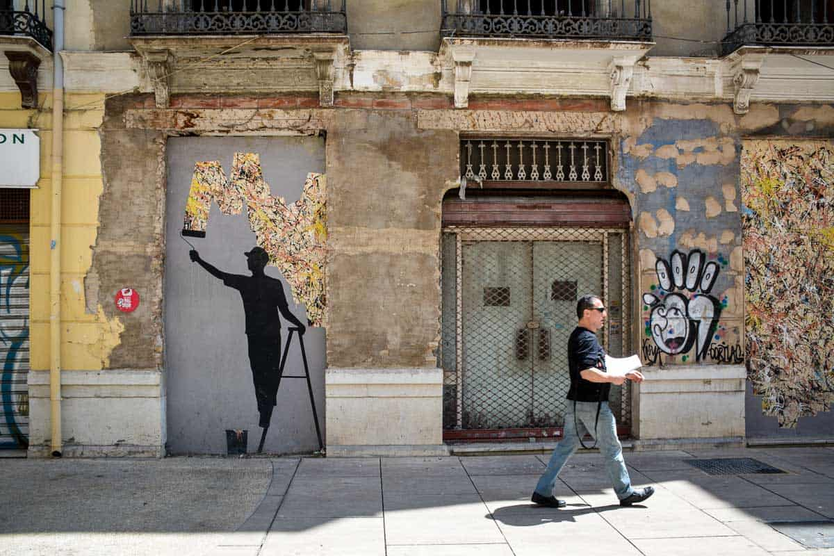 Malaga has a small but reputable street art scene.