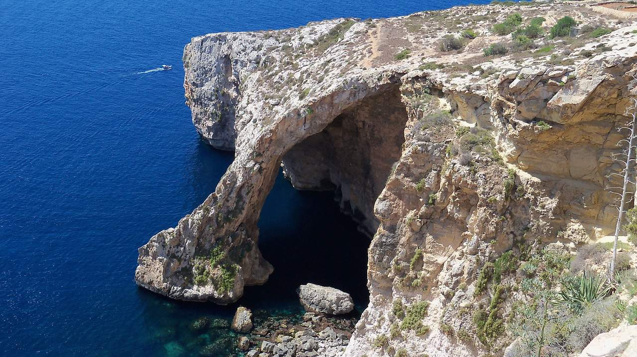The Blue Grotto is just one of Malta's many natural wonders.