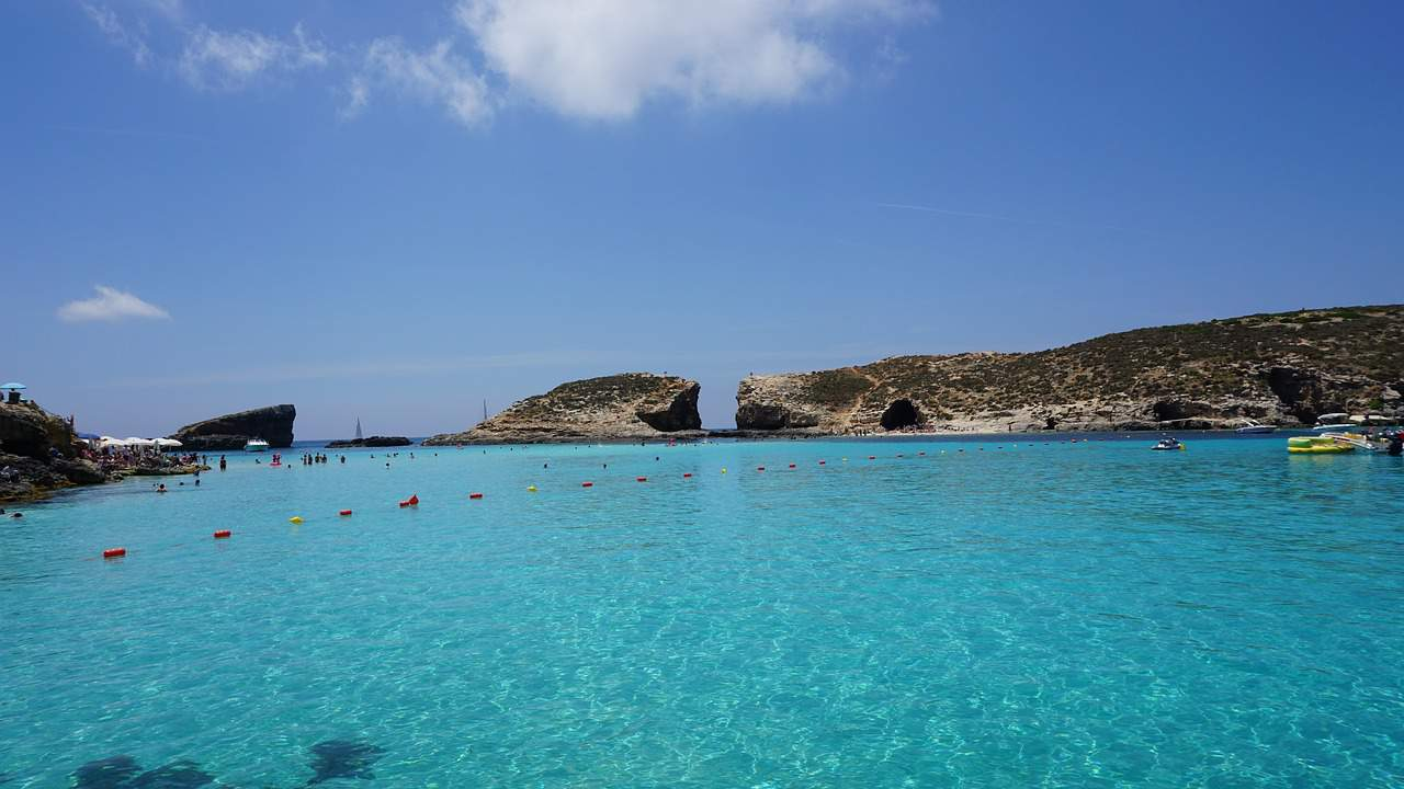 The Blue Lagoon in Malta is considered one the most beautiful places to visit while holidaying on the island.