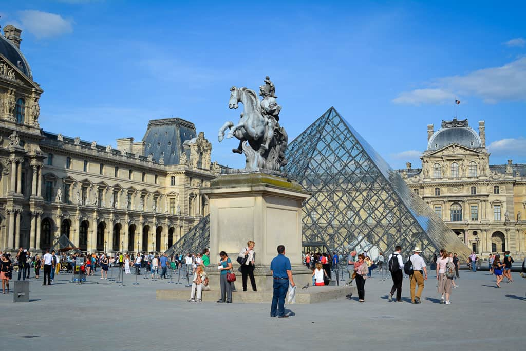The Louvre Museum is one of the most famous art galleries in the world. A visit is a must for any traveler to Paris.
