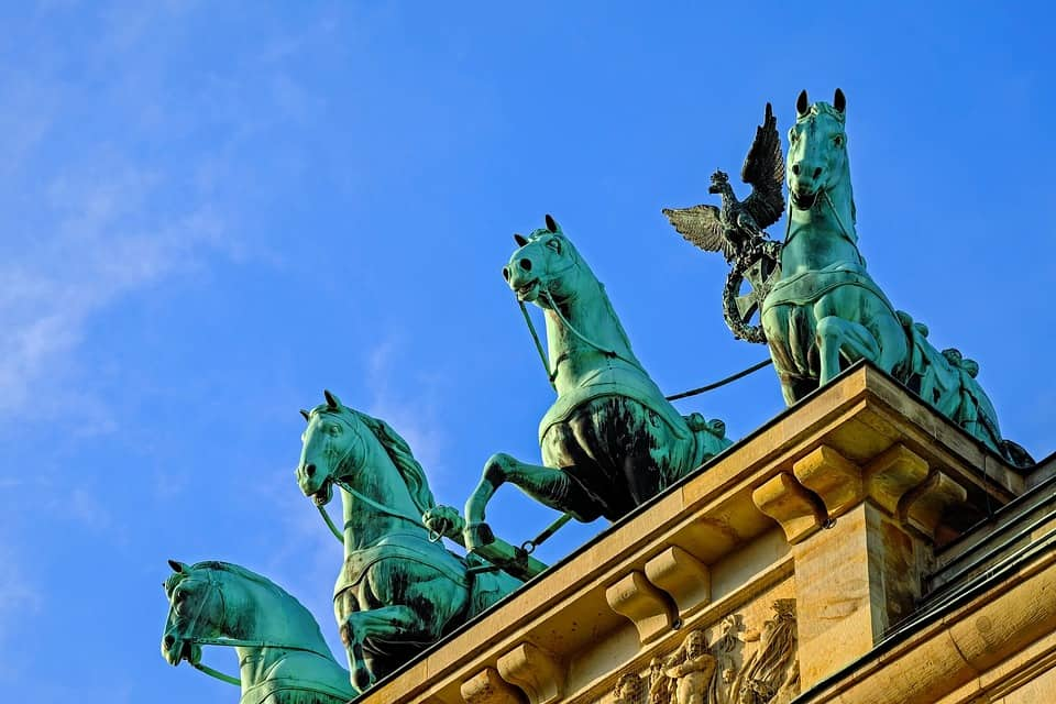 Some of the best known Berlin attractions such as the Brandenburg Gate can be found in Mitte.
