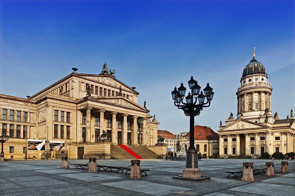 The romantic atmosphere of Gendarmenmarkt is perfect for a couple weekend in Berlin.