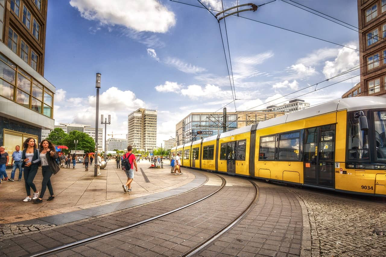 It is easy to get around Berlin - the public transport system is extensive and relatively cheap. Visitors can choose between trams, busses, the subway, and suburban trains (S Bahn).