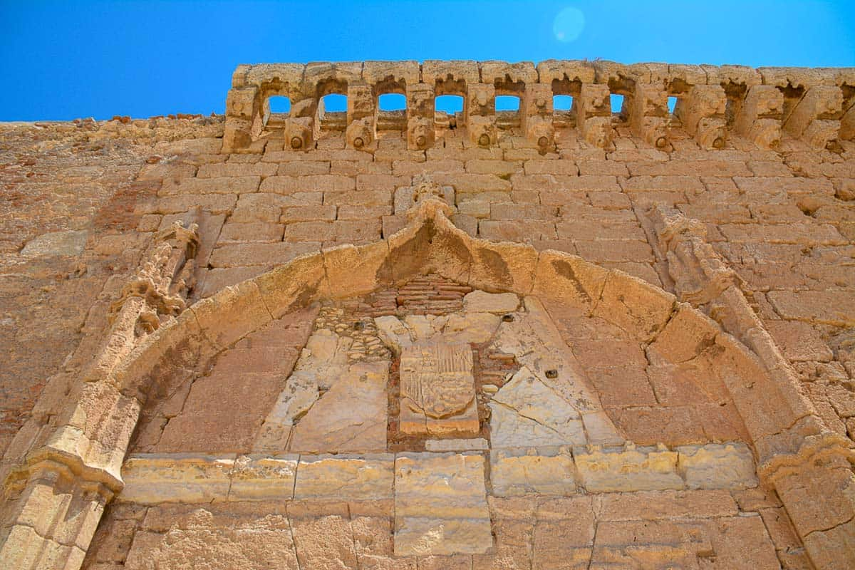 A lovely detail of the Alcazaba.