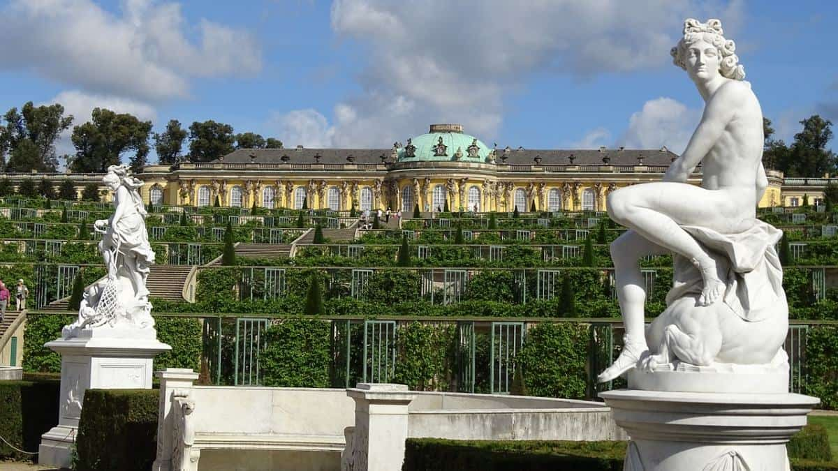 Potsdam is a great day trip destination from Berlin. While access to Sanssouci and other palaces is at a cost you can still visit the many beautiful parks for free.