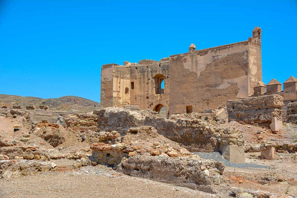 The Alcazaba in Almería is less complete than other Moorish fortresses in the south of Spain. However, visitors can still feel the sheer size that translated into power.