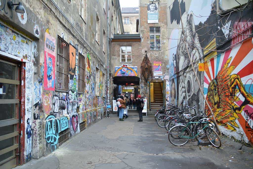 Haus Schwarzenberg is a public cultural project where street art is not just tolerated but also encouraged.