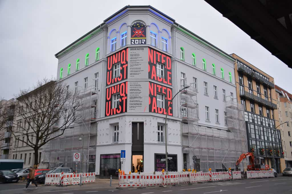 Urban Nation is a cool Berlin art gallery which focuses on young artists and street artists. Entry is free.