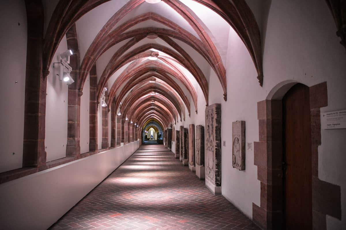 The German National Museum encompasses parts of a medieval monastery.