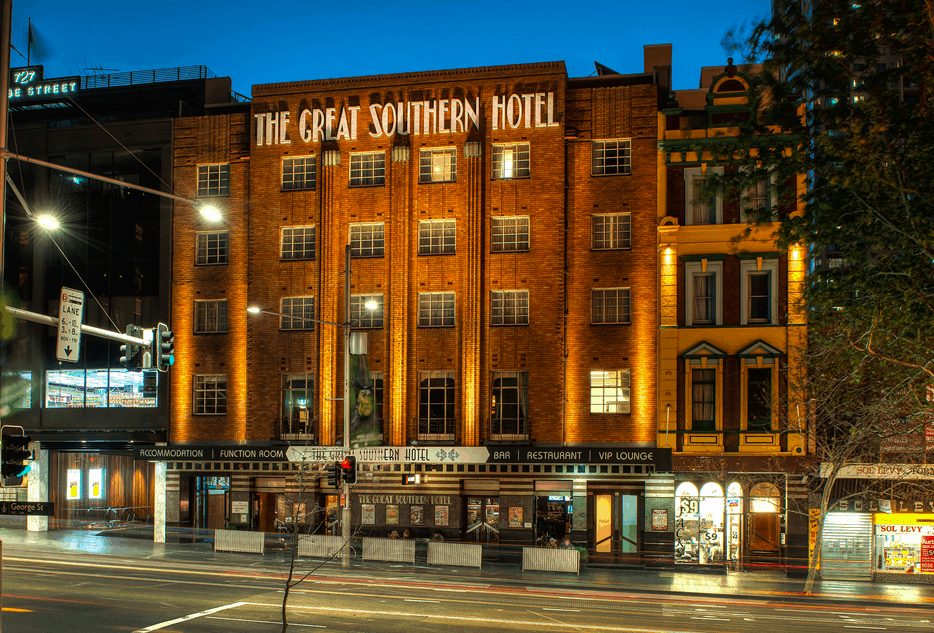 Photo Credit: The Great Southern Hotel Sydney