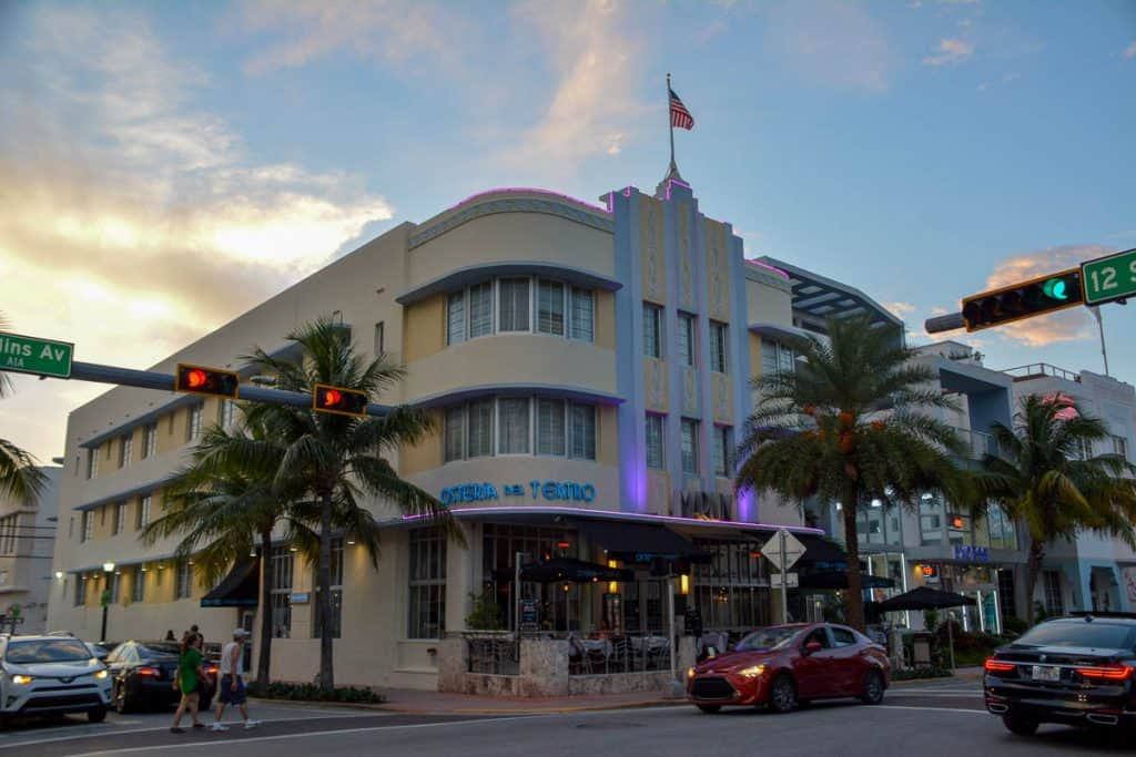 The Marlin Hotel is one of South Beach's true art deco hotels. We had one of our best hotel experiences here ever.